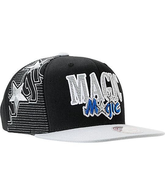best value aa3e0 13598 ... NBA Mitchell and Ness Orlando Magic Side Logo Snapback Hat