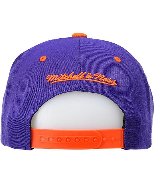 the best attitude 0b713 104b5 NBA Mitchell and Ness Phoenix Suns Arch Snapback Hat | Zumiez