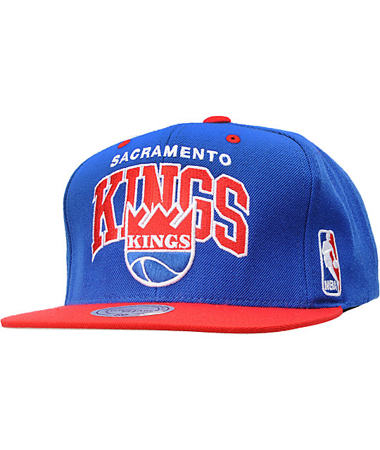 NBA Mitchell and Ness Sacramento Kings Arch Snapback Hat
