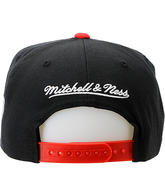 NBA Mitchell and Ness Trail Blazers Media Day Snapback Hat