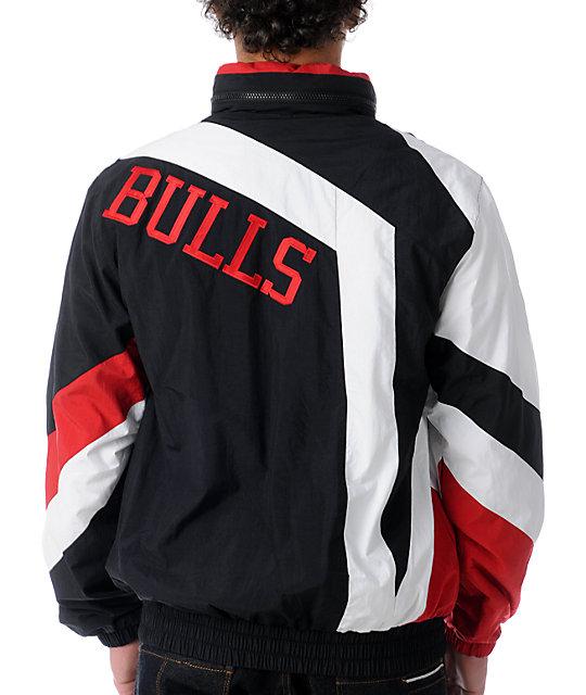 3250be2fb02c ... NBA Mitchell and Ness Vintage Chicago Bulls Windbreaker ...