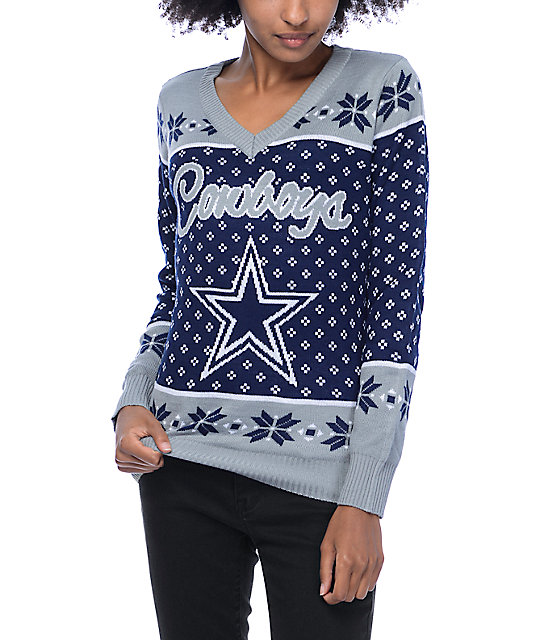 finest selection 05e02 2e18b NFL Forever Collectibles Dallas Cowboys Sweater