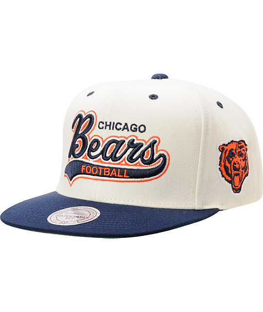 fe5dd4973 ... where to buy nfl mitchell ness chicago bears tailsweeper snapback hat  aed10 45e02