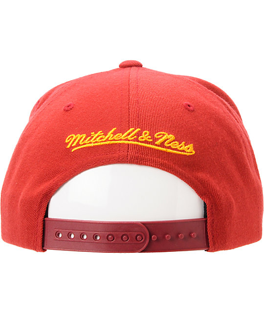 bcc56ab517b ... NFL Mitchell And Ness Washington Redskins Arch Snapback Hat ...