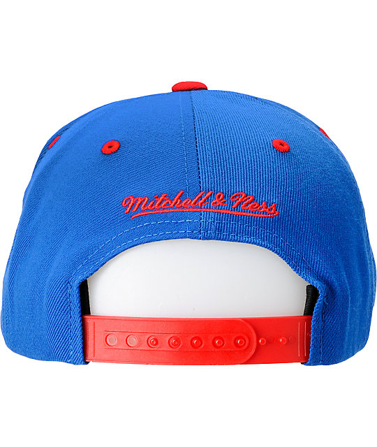 NFL Mitchell and Ness Buffalo Bills Blue Snapback Hat