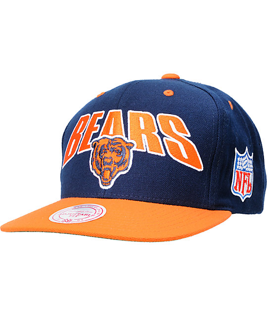 af0e0b769dd5d NFL Mitchell and Ness Chicago Bears Flashback Snapback Hat