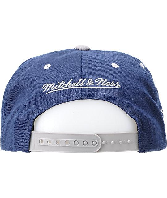 14477a1e NFL Mitchell and Ness Dallas Cowboys Logo Snapback Hat | Zumiez