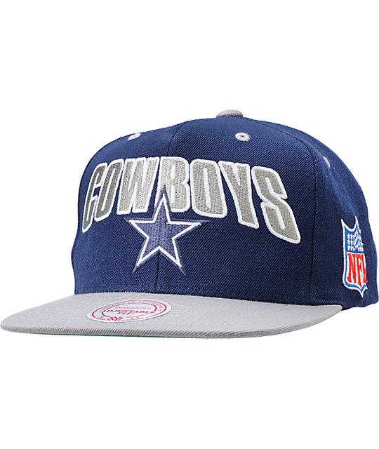 15c59bdc NFL Mitchell and Ness Dallas Cowboys Snapback Hat | Zumiez