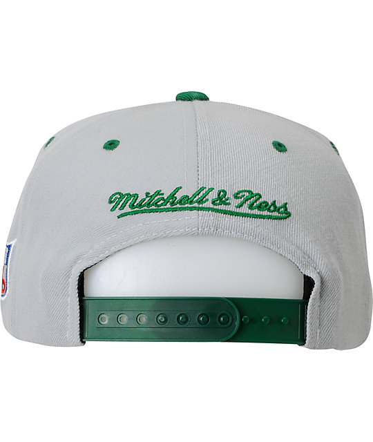 9fd5954ee4281 ... NFL Mitchell and Ness Eagles Basic 2Tone Snapback Hat