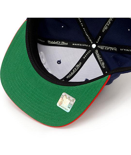 b1e2e8b80 ... NFL Mitchell and Ness Giants XL Logo 2Tone Blue Snapback Hat