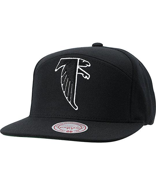 NFL Mitchell and Ness Horizontal Atlanta Falcons Snapback Hat  99b0e776880