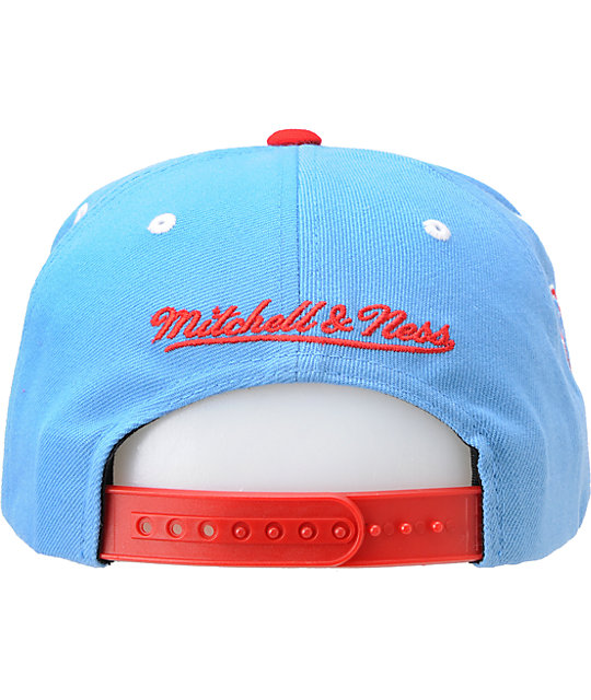 b0f64def66fe1a ... best nfl mitchell and ness houston oilers blue snapback hat 9da07 65345
