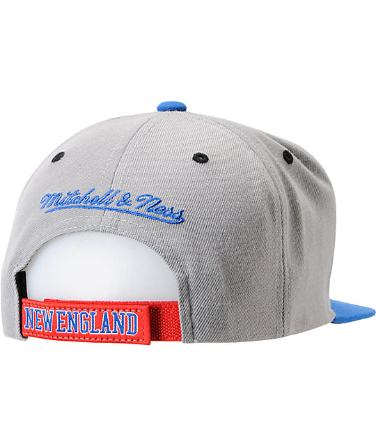NFL Mitchell and Ness New England Patriots Arch Underbill Snapback Hat