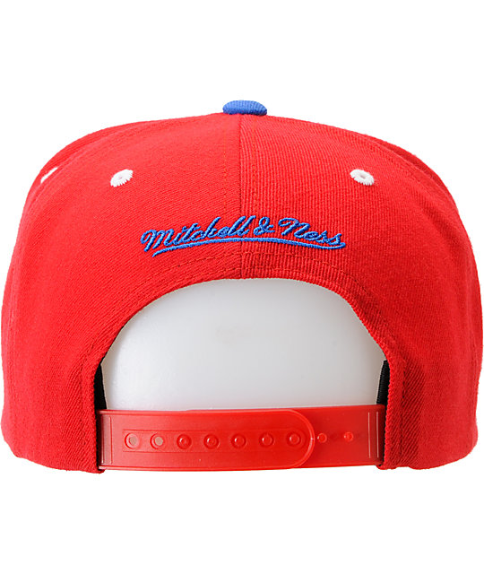 NFL Mitchell and Ness New England Patriots Multi-Tone Snapback Hat