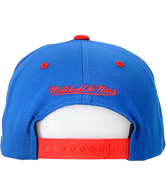 NFL Mitchell and Ness New York Giants Snapback Hat