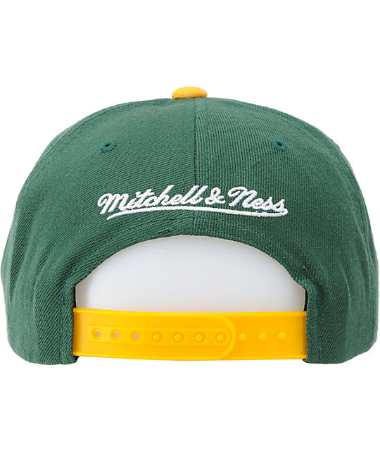 683fde9c0 NFL Mitchell and Ness Packers Vice Snapback Hat | Zumiez