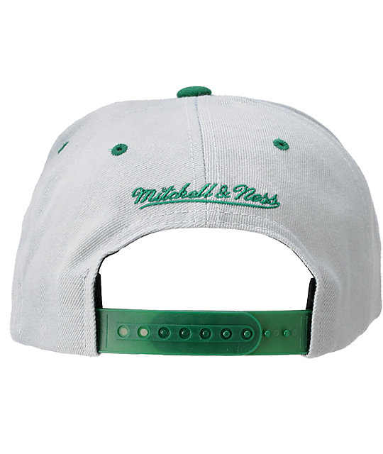 NFL Mitchell and Ness Philadelphia Eagles Grey Snapback Hat