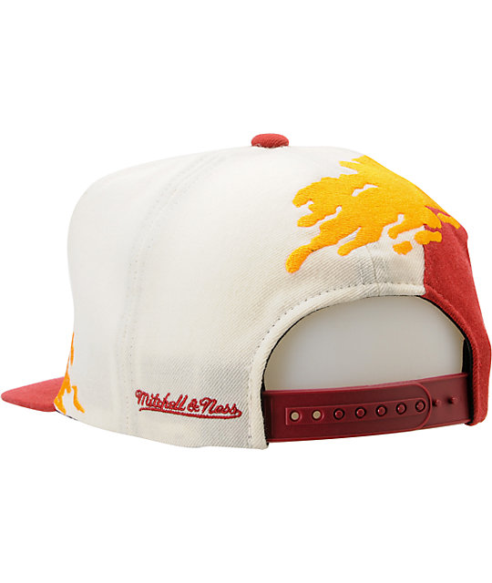 NFL Mitchell and Ness Redskins Paintbrush Snapback Hat