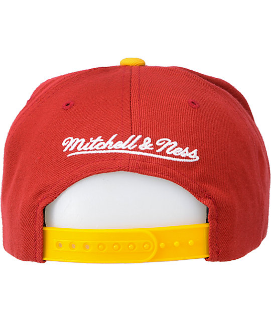 NFL Mitchell and Ness Redskins Vice Snapback Hat