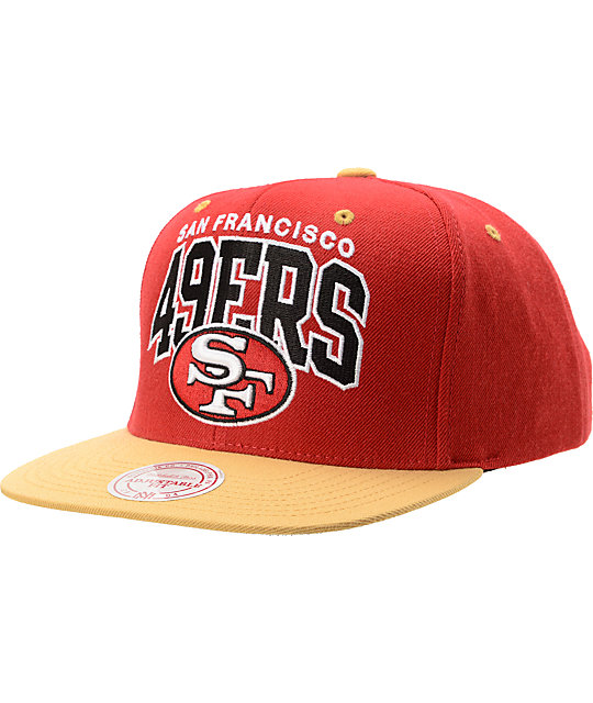 db1386fc3a9 ... canada nfl mitchell and ness san francisco 49ers snapback hat 25ead  9508f ...