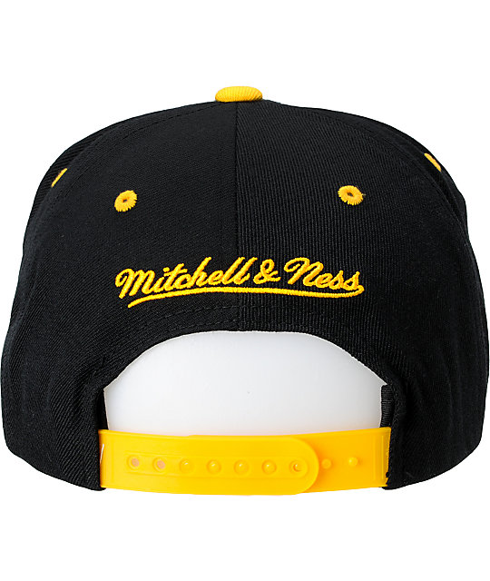 new product be492 496fc ... purchase nhl mitchell and ness boston bruins snapback hat ed81f 5d355