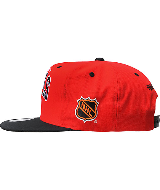 NHL Mitchell And Ness New Jersey Devils Snapback Hat