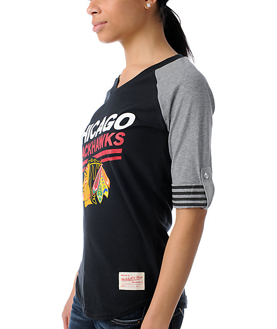 NHL Mitchell and Ness Chicago Blackhawks Comeback T-Shirt
