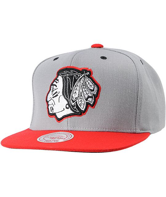 94ee4b06f17 NHL Mitchell and Ness Chicago Blackhawks Underbill Hat