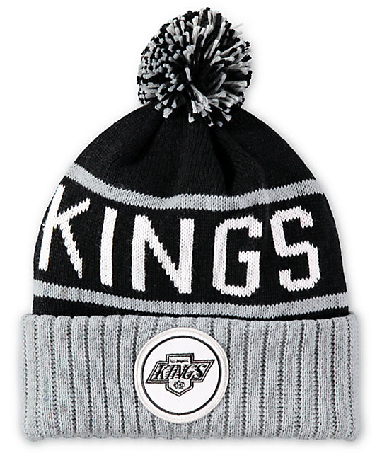 1b64923f4c2 NHL Mitchell and Ness King Pom Beanie