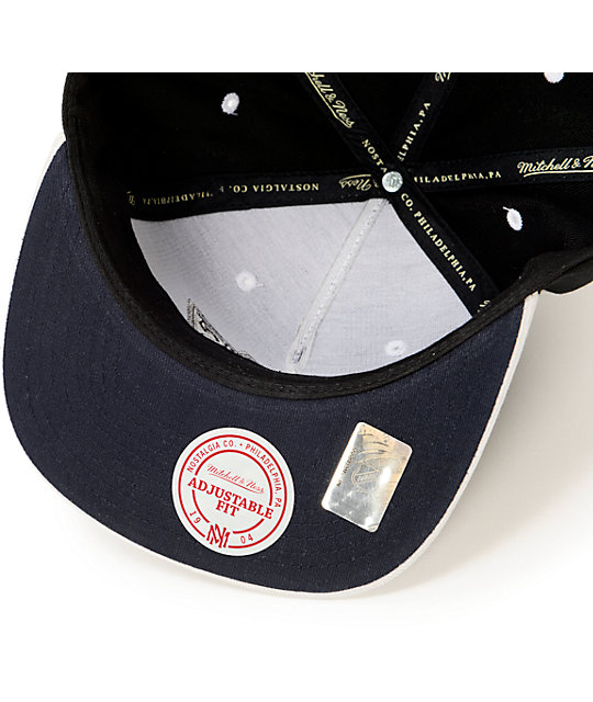 NHL Mitchell and Ness Kings Grey Cord Visor Strapback Hat
