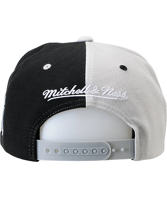 NHL Mitchell and Ness Kings The Split Snapback Hat