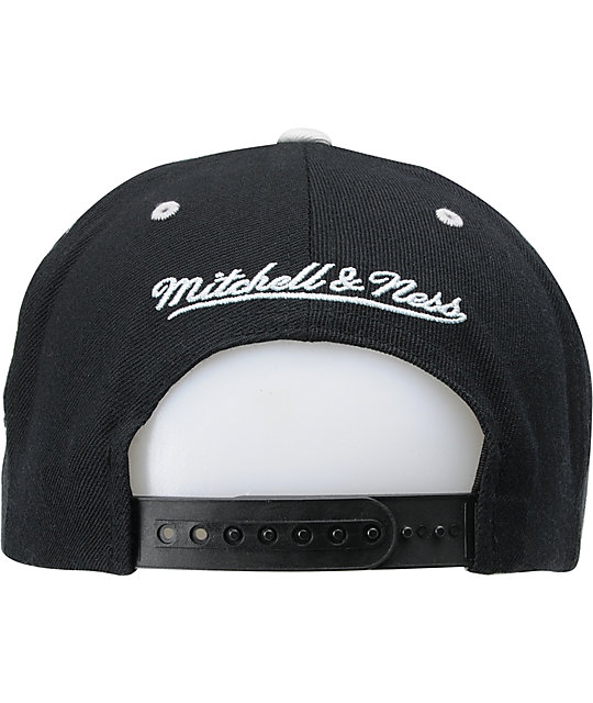 NHL Mitchell and Ness Los Angeles Kings Wordmark Snapback Hat
