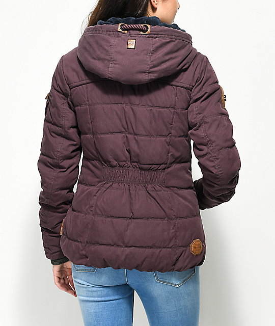 Naketano Breakfast Club Aubergini Jacket