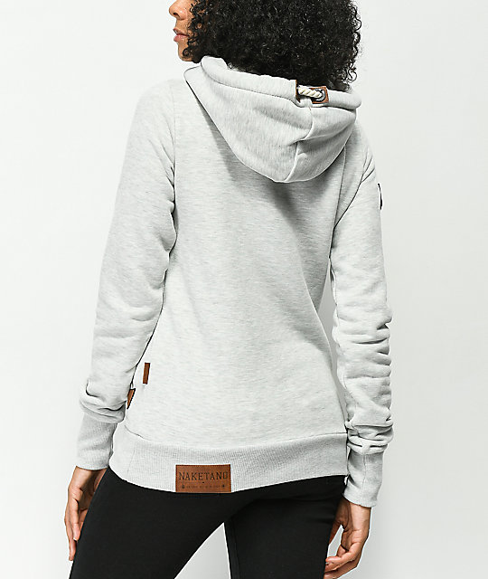 Naketano Darth Stone Grey Hoodie
