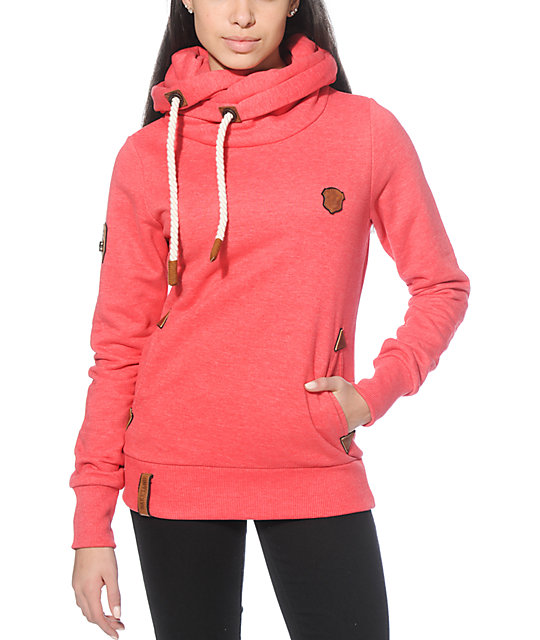 Naketano Darth Long VII W hoodie red