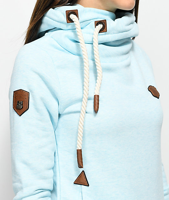 Naketano Darth X Bubble Butt Blue Hoodie
