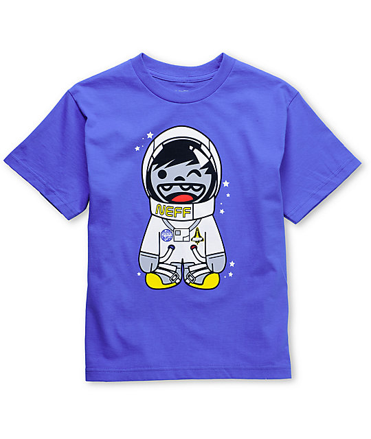 Neff Astro Kenny Boys Blue T-Shirt