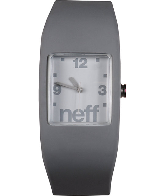 Neff Bandit Grey Wristband Analog Watch