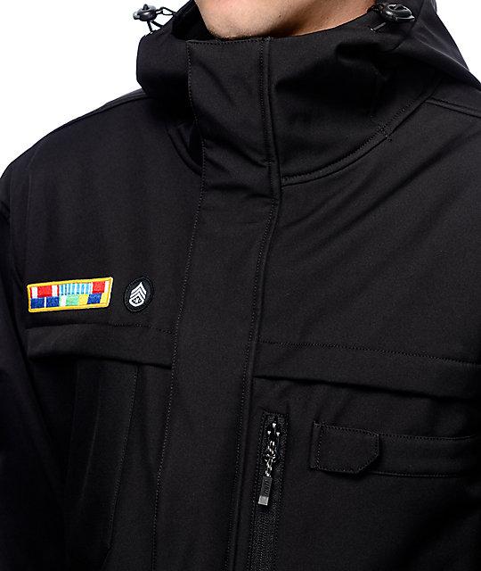196553c544c ... Neff Black Ops Softshell Jacket ...