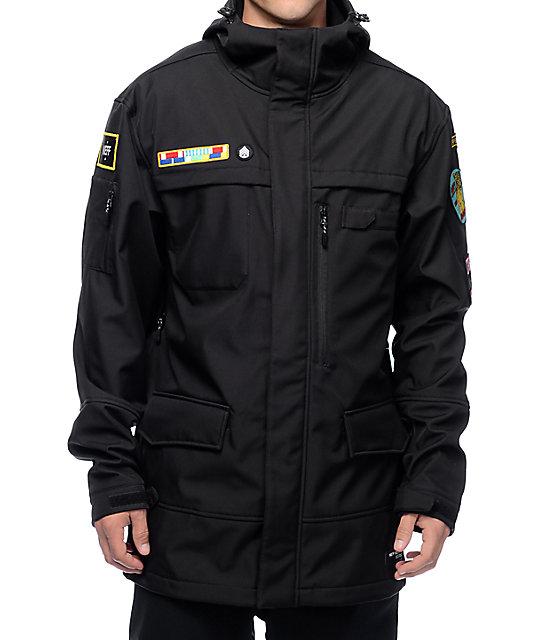 fd4afcf5aa3 Neff Black Ops Softshell Jacket
