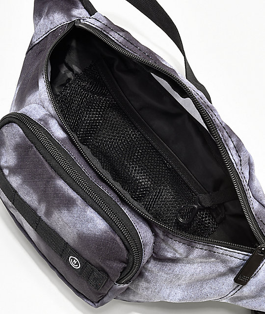 Neff Bleached Black Fanny Pack