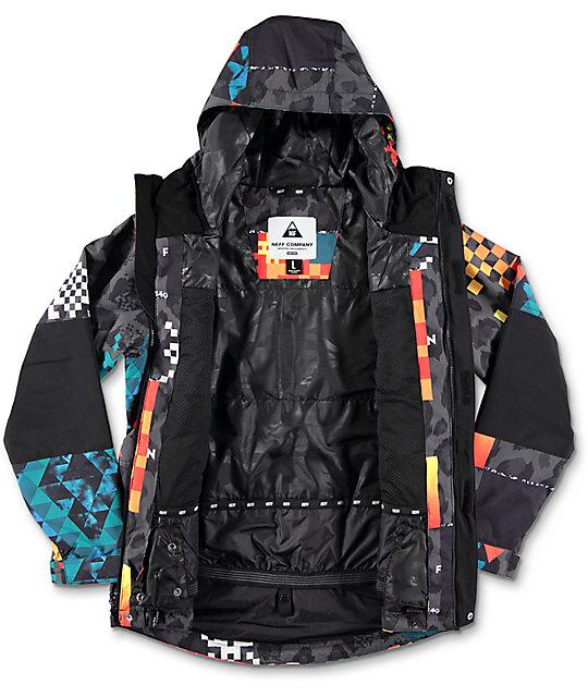 432da4b96 Neff Boys Daily Psych Safari Snowboard Jacket | Zumiez