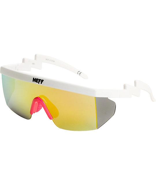 ff96722ffc Neff Brodie gafas de sol blancas | Zumiez