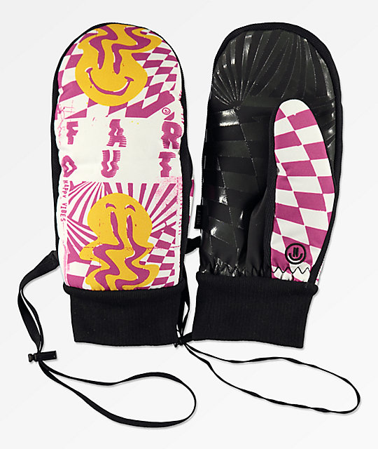 Neff Character Far Out Snowboard Mittens