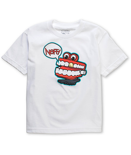 Neff Chatter Boys White T-Shirt