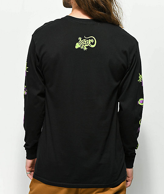 Neff Critter Black Long Sleeve T-Shirt