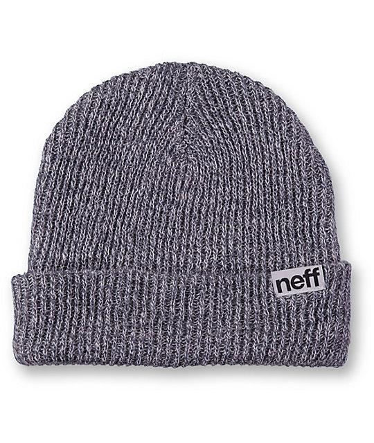 7ae2c305dec Neff Cuff Grey Beanie