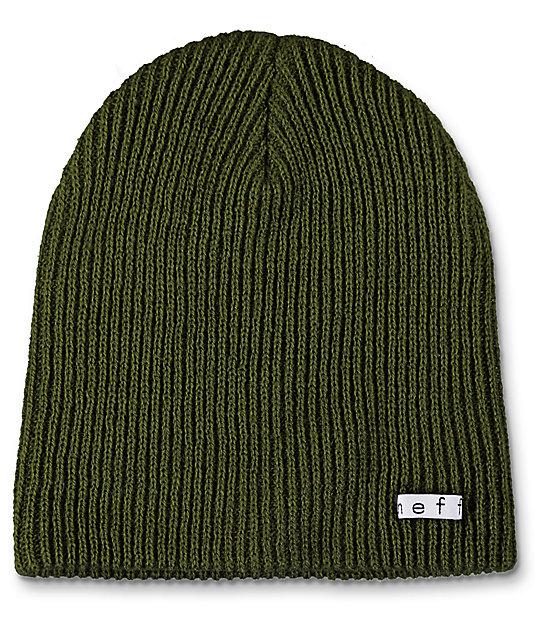 3dacb01db Neff Daily Fatigue Green Beanie