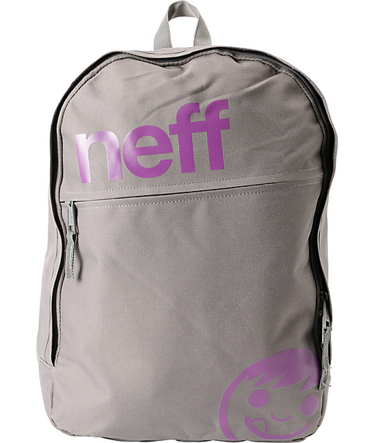 Neff Daily Grey & Purple Backpack