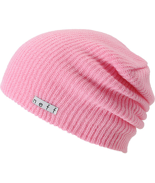 f2998eab635 Neff Daily Light Pink Beanie